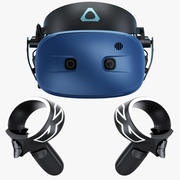 HTC Vive Cosmos Virtual Reality System 2019 3d model