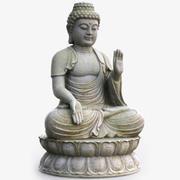 Estatua de Buda modelo 3d