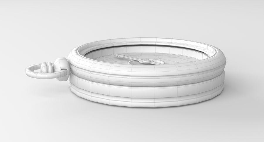 Gammalt kompass, riggat, högt och lågt poly, PBR royalty-free 3d model - Preview no. 15