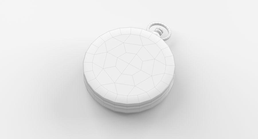 Gammalt kompass, riggat, högt och lågt poly, PBR royalty-free 3d model - Preview no. 18