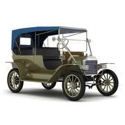 Generic Classic Car 3d model