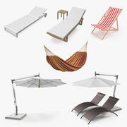 Garden Furniture 3D Models Collection 2 3d model