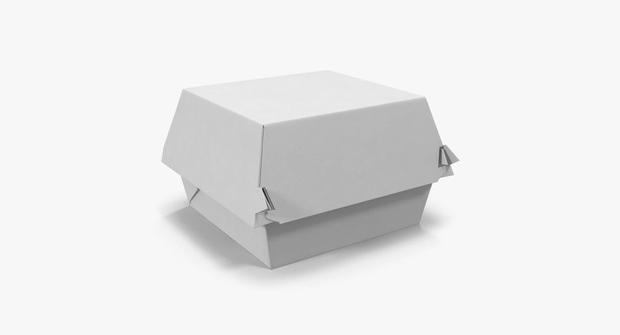 Fast Food Containers Collection royalty-free 3d model - Preview no. 14