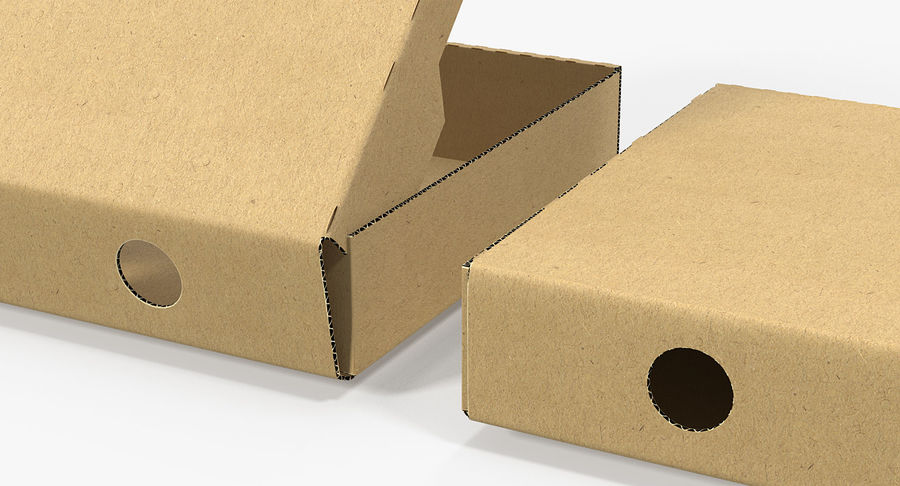Fast Food Containers Collection royalty-free 3d model - Preview no. 7
