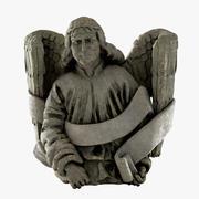Statua Starego Anioła 3d model