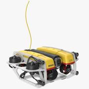 Robot submarino modelo 3d