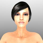 Обнаженная женщина без снаряжения 3d model