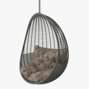 吊椅 3d model