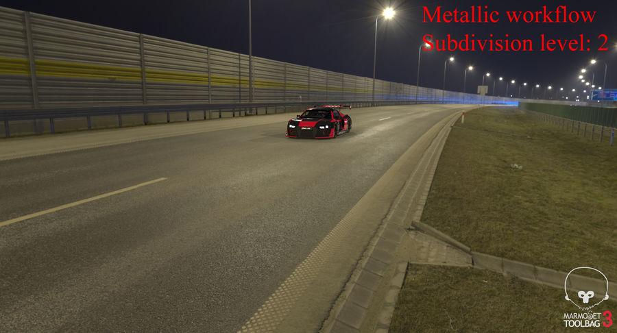 Audi R8 LMS GT3 royalty-free 3d model - Preview no. 45