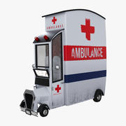 Ambulance Cartoon Car 3d model