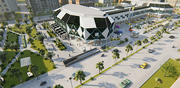 Mall (Shopping Block Transformation into Shopping Mall) 3d model