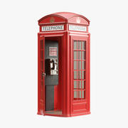 Telephone Box 3d model