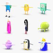 Pack de personajes de Hora de Aventuras modelo 3d