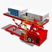 Dispositivo caricatore di aeromobili attrezzato 3d model