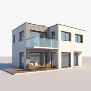 Contemporary House 79 3d model