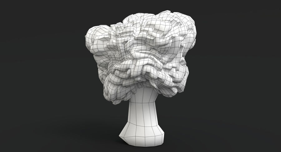 Pilzsammlung royalty-free 3d model - Preview no. 17
