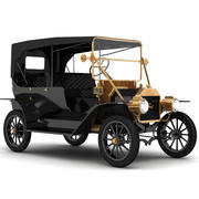 Ford Model T modèle 3D 3d model