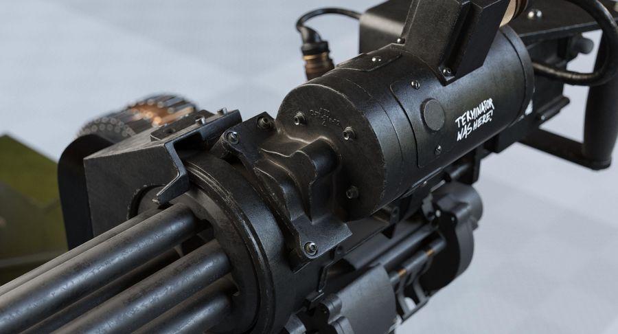 Minigun(1) royalty-free 3d model - Preview no. 15