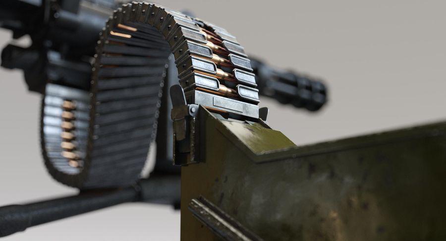 Minigun(1) royalty-free 3d model - Preview no. 16