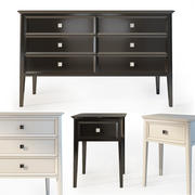 sideboard dresser,  nightstand. 3d model