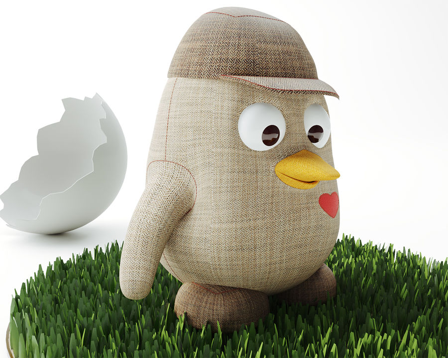 Toy_Penguin royalty-free 3d model - Preview no. 5