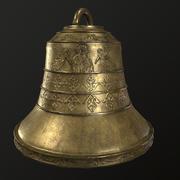 dzwon kościelny Low-poly 3d model