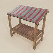 Merchant Stall 3d model