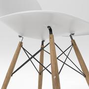Cadeira Eames Eiffel 3d model