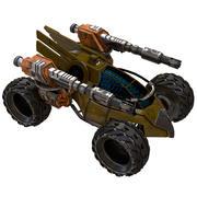 Petit chariot 3d model