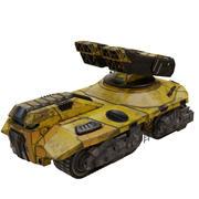 Roketatar 3d model