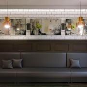 Conjunto de painéis de parede 74 3d model