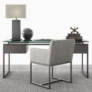 Latour Desk Set 3d model