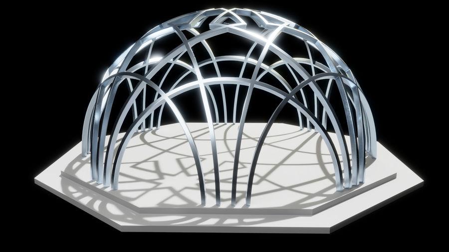 L'arco del Museo di storia della scienza e della tecnologia di Istanbul royalty-free 3d model - Preview no. 1