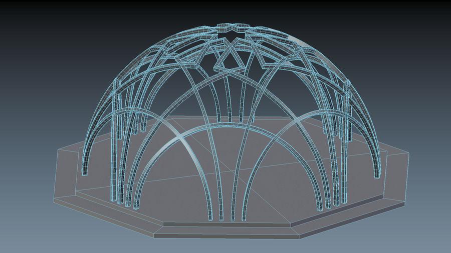 L'arco del Museo di storia della scienza e della tecnologia di Istanbul royalty-free 3d model - Preview no. 4