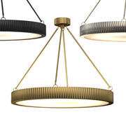 DAVENPORT ROUND CHANDELIER 30 3d model