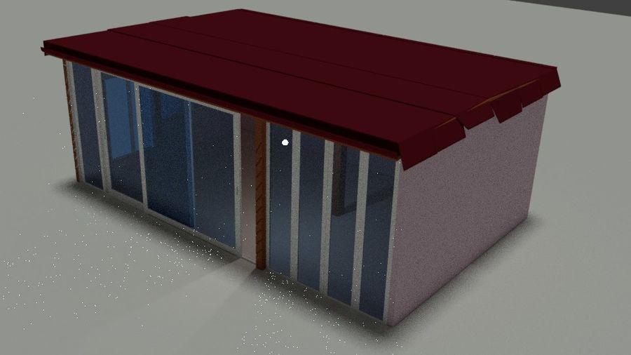 Skjul royalty-free 3d model - Preview no. 4