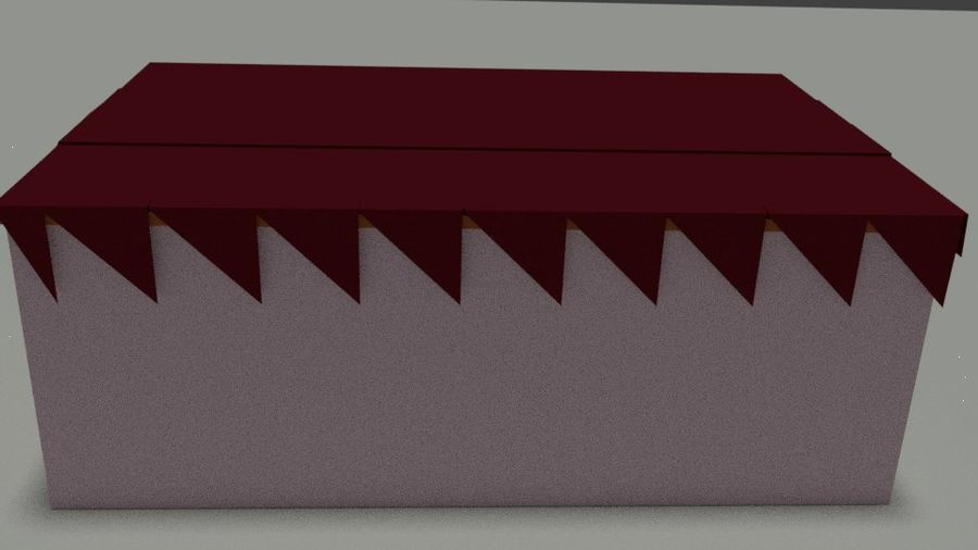 Skjul royalty-free 3d model - Preview no. 5