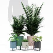 Bau potten 3d model