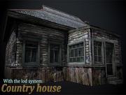 Landhaus für die Einheit 3d model