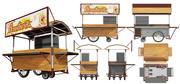 Hawker Stall 3d model