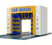 自動洗車機 3d model