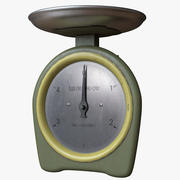 Old Scales 3d model