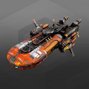 Smuggler Destroyer SM7 3d model