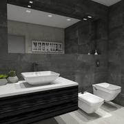 3D moderne badkamer 3d model