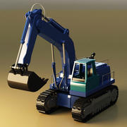 Telescopic excavator 3d model