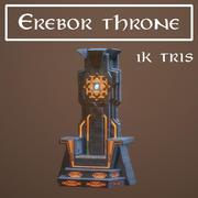 Trône d'Erebor 3d model