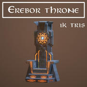 Erebor tron 3d model