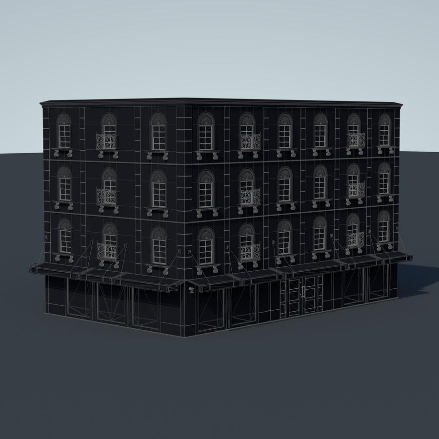 模块化建筑 royalty-free 3d model - Preview no. 11