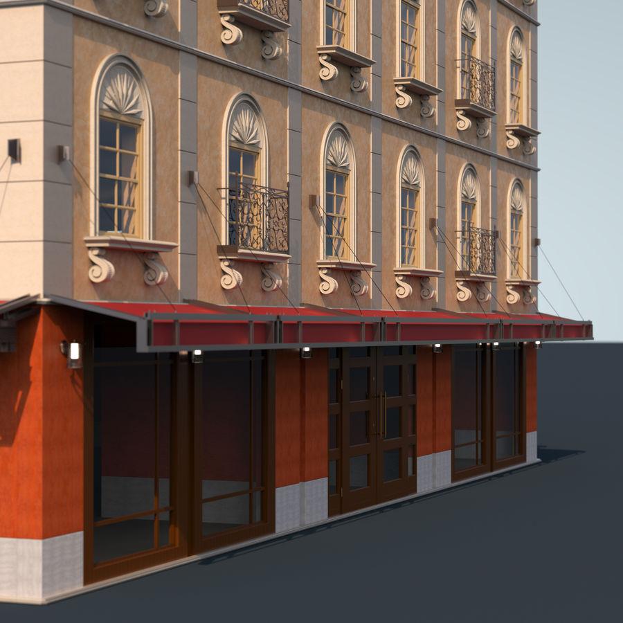 模块化建筑 royalty-free 3d model - Preview no. 7