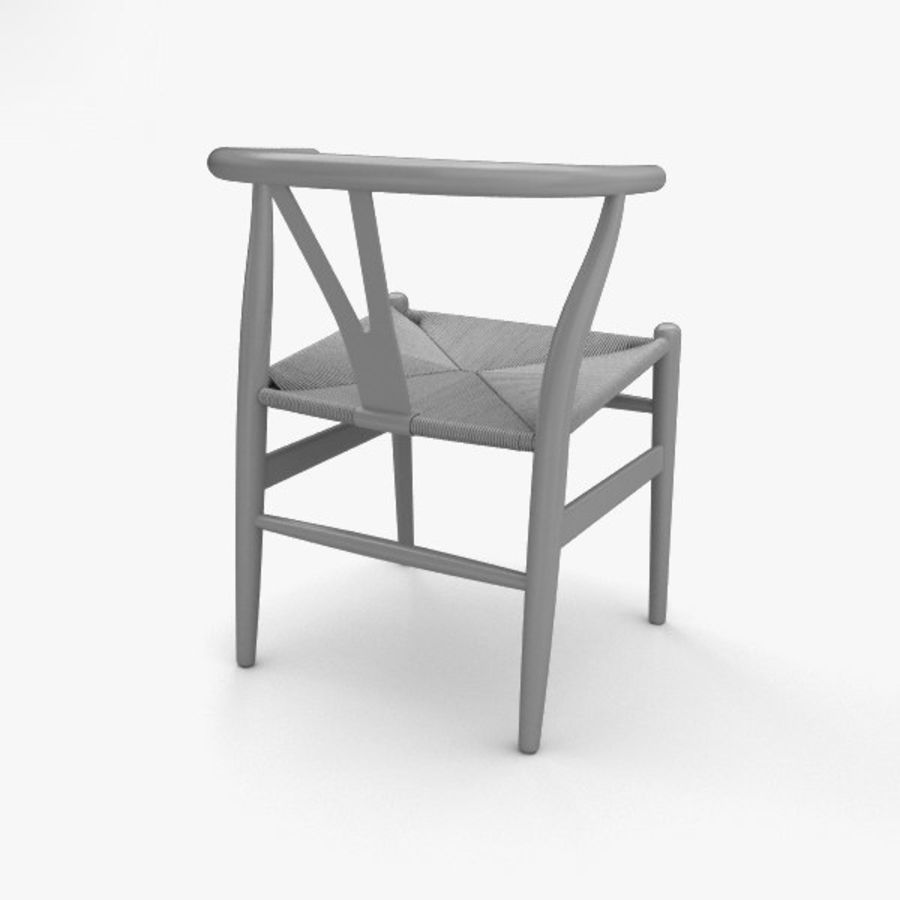 Wishbone-stol royalty-free 3d model - Preview no. 12